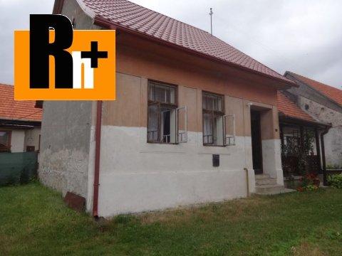 Foto Vavrišovo stred obce na predaj chalupa - rezervované